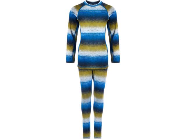 Reima Taival Thermal Baselayer Set Kinder brave blue